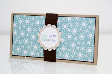 _DSC8905 Stampin Up Weihnachten Christmas Giftcard Geschenkkarte Winterzeit Warten aufs Christkind No Peeking Glitzerpapier Make a Mitten  _