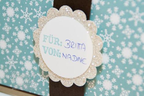 _DSC8906 Stampin Up Weihnachten Christmas Giftcard Geschenkkarte Winterzeit Warten aufs Christkind No Peeking Glitzerpapier Make a Mitten  _