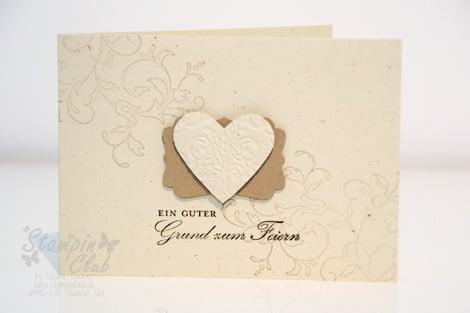 _DSC9648 Stampin Up Einladung Invitation Hochzeit Wedding Kreative Elemente  Geburtstagswunsch Brokat Prägefolder Silberhochzeit _