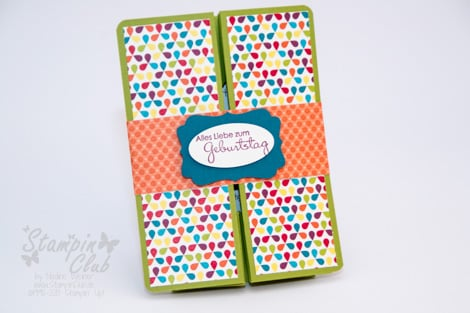 _DSC9841 Stampin Up Box Card DSP Summer Smooches Sommerparty Perfekte Pärchen Gutschein Geburtstag gift card birthday Petite Pairs_