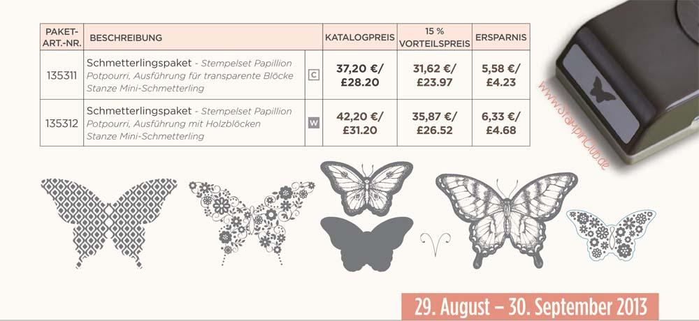 2013-08 Angebot September 2013 Schmetterling Stampin Up Ausschnitt