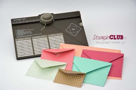 Stampin Up Envelope Punch Board Stanz- und Falzbrett für Umschläge 2