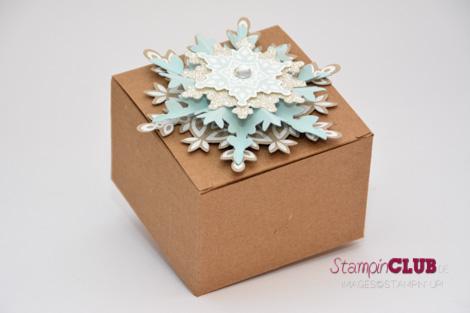 DSC_2773 Stampin Up christmas festive flurry ornament flockentanz box glue pen Bosch_