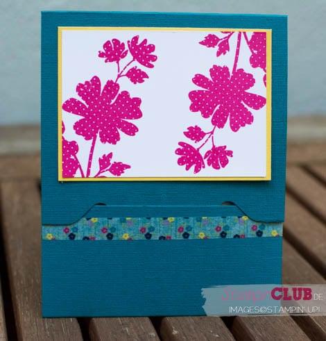 20140608 Stampin Up Envelope Punch Board Gift Card Holder Geschenkkarte Gift of Kindness Gartenparty Stanz und Falzbrett für Umschläge