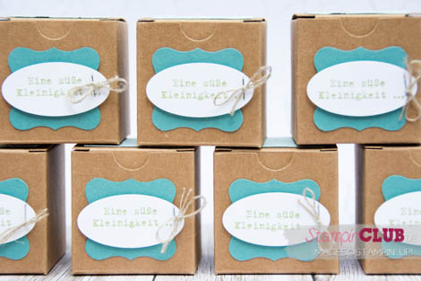 20140830 Stampin Up Tiny Treat Boxes Mini-Geschenkschachteln Verpackung Spruch-reif Lucky Stars Glückssterne_