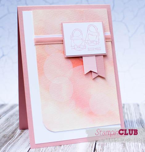 20140909Stampin Up Baby Girl Mädchen Bokeh Effect Card Baby we've grown Kleine Ganz Groß-4