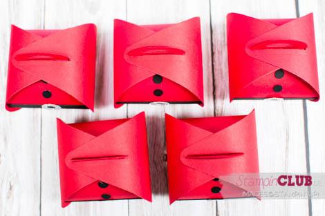 20140914Stampin Up Christmas Weihnachten Curvy  Keepsakes Box Santa Thinlits Formen Zierschachtel für Andenken Nikolaus-2