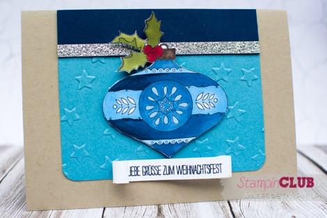 20141109 Stampin Up Christmas Bauble Mix-Marker Blendabilities Weiße Weihnachten White Christmas_