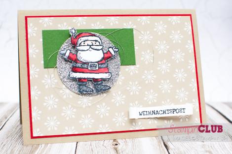 20141109 Stampin Up Warten auf den Weihnachtsmann Get Your Santa On Mix-Marker Blendabilities_