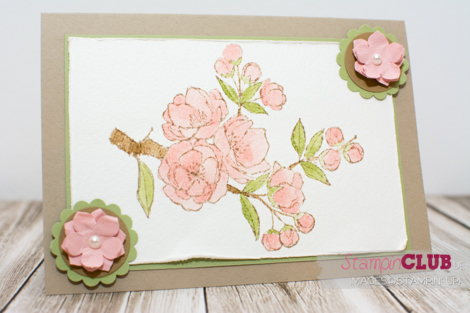 20141226 Stampin Up Frhe Osterbotschaft Indescribable Gift Watercolor_