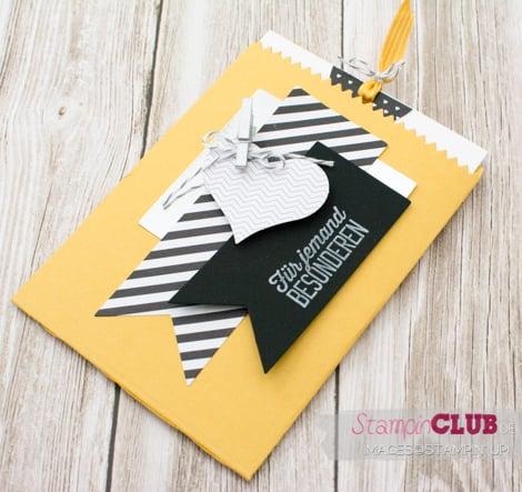 20150109 Stampin Up Mini Treat Bag Thinlits Formen Mini-Leckereintüte Wie du bist sale-a-bration Simply Created Hello Life Kit Das Leben lacht Gutschein_-3