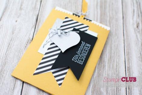 20150109 Stampin Up Mini Treat Bag Thinlits Formen Mini-Leckereintüte Wie du bist sale-a-bration Simply Created Hello Life Kit Das Leben lacht Gutschein_