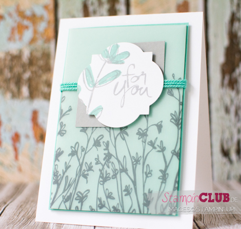 20150315 Stampin Up Mum's Love Sheer Perfection Designer Vellum Stack Designerpergament Block Pure Perfektion sale-a-bration 2015_-2