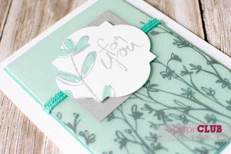 20150315 Stampin Up Mum's Love Sheer Perfection Designer Vellum Stack Designerpergament Block Pure Perfektion sale-a-bration 2015_