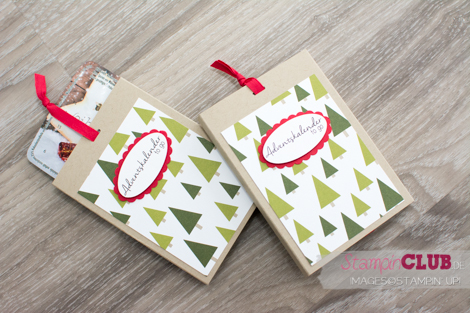 Stampin Up, Adventskalender to Go, Mini-Adventskalender