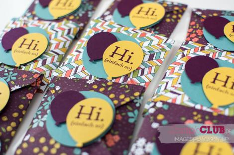 Stampin Up Goodies Designerpapier Wildblumenwiese Wildflower Fields DSP In Partystimmung Party Pants