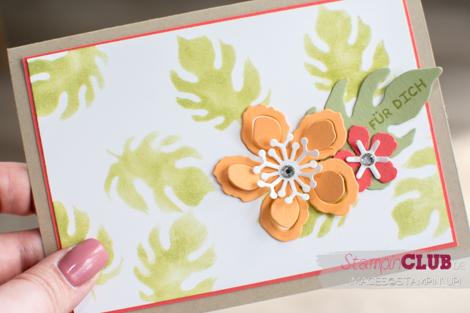 20160520 Stampin Up stencil botanical Builders Framelits Pflanzen Potourri_-4