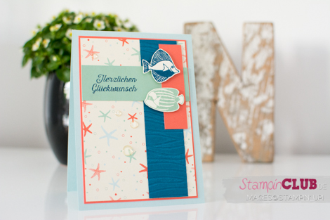 20160702 Stampin Up Seaside Shore Designerpapier Am Meer By the Shore DSP_