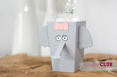 20160709 Stampin Up Playful Pals Popcorn Box Thinlits Elephant Elefant_-3