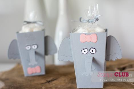 20160709 Stampin Up Playful Pals Popcorn Box Thinlits Elephant Elefant_-6