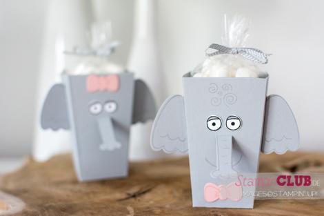 20160709 Stampin Up Playful Pals Popcorn Box Thinlits Elephant Elefant_-7