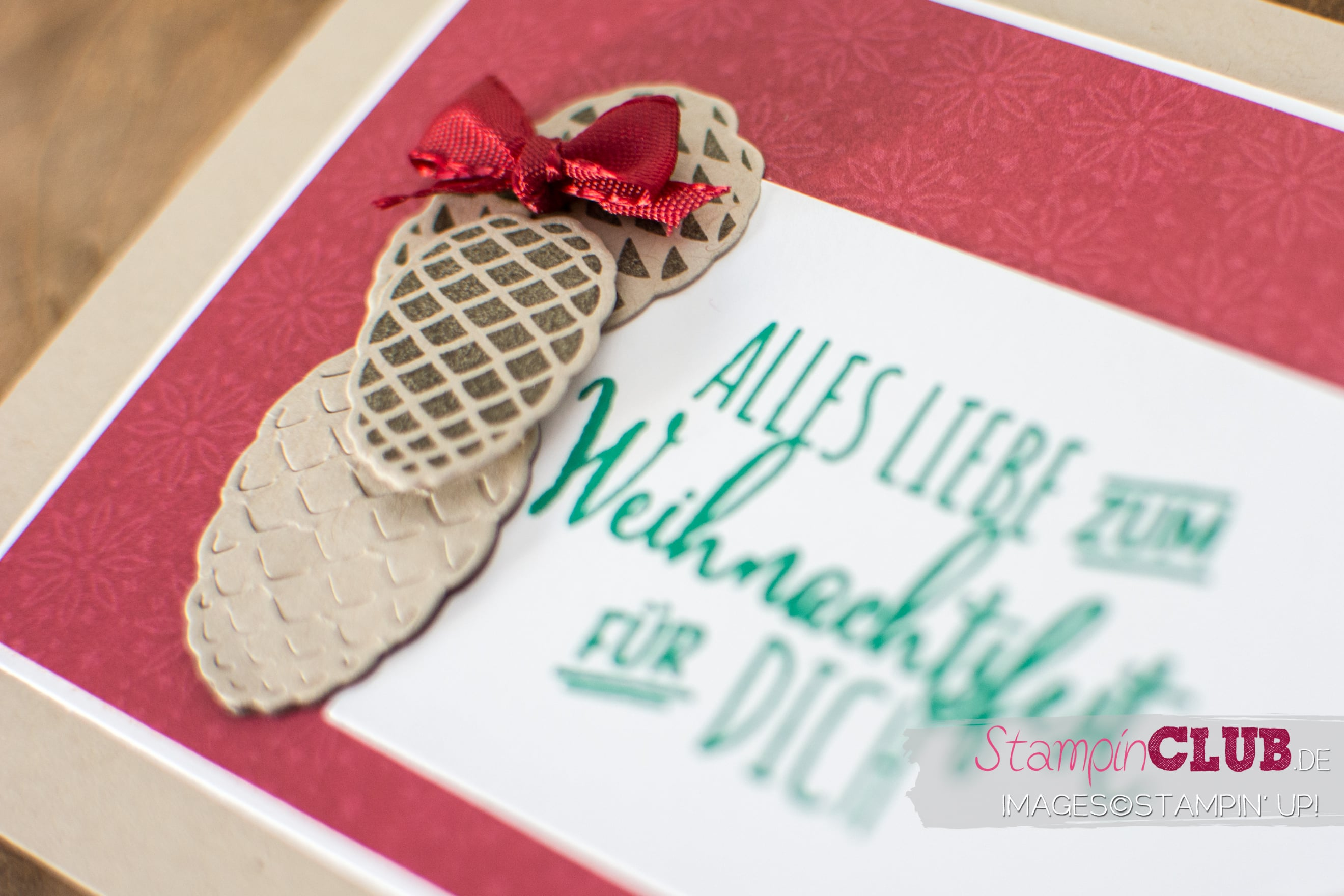 20160813 StampinClub Stampin Up Tannenzauber Christmas Pines