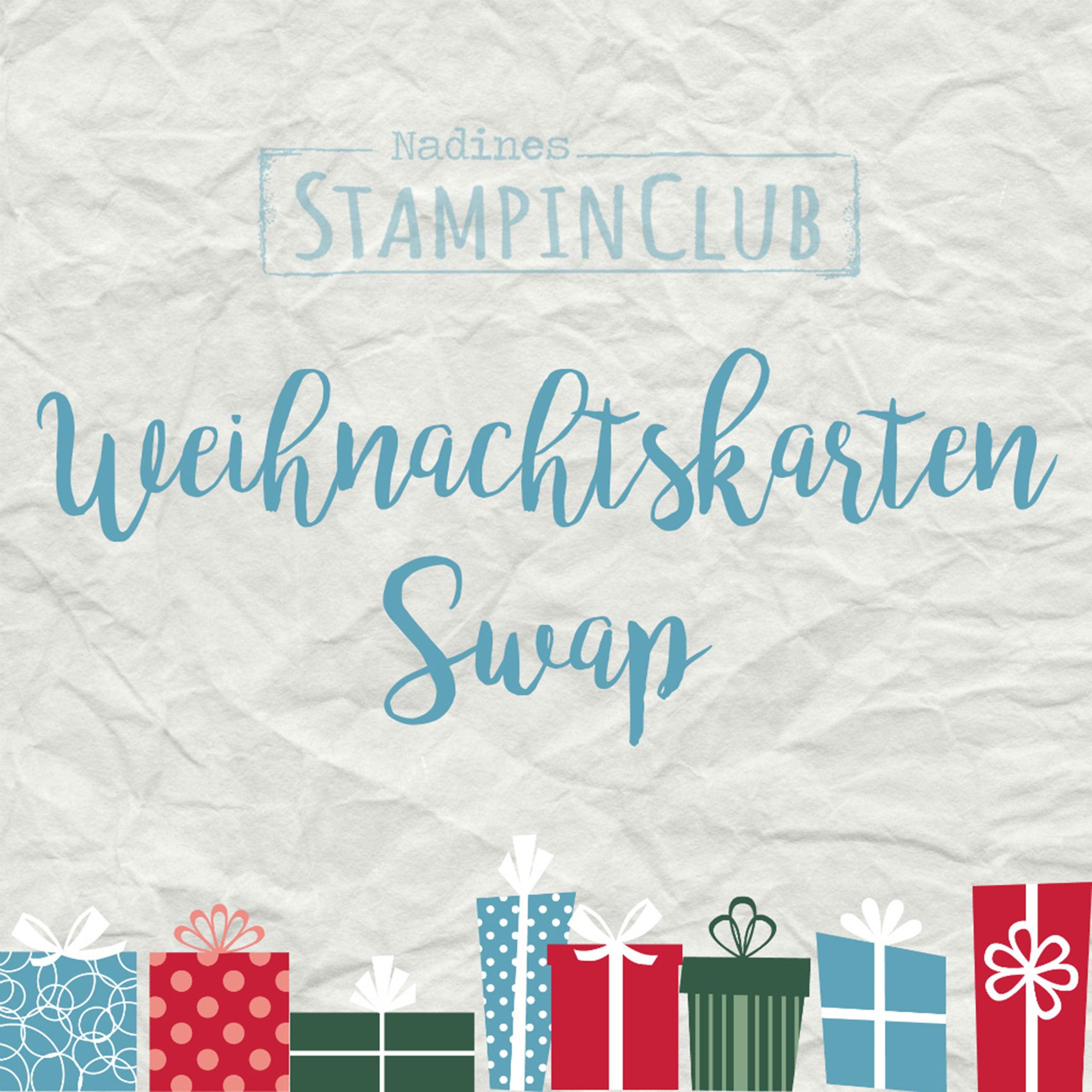 Weihnachtskarten Swap 2019