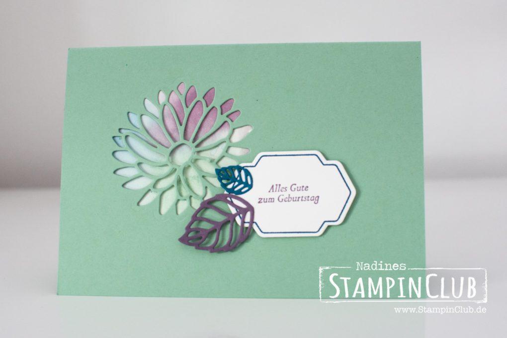 StampinClub, Stampin' Up!, Besondere Grüße, Special Reason, Framelits Formen Blumenkreationen, Stylish Stems Framelits Dies