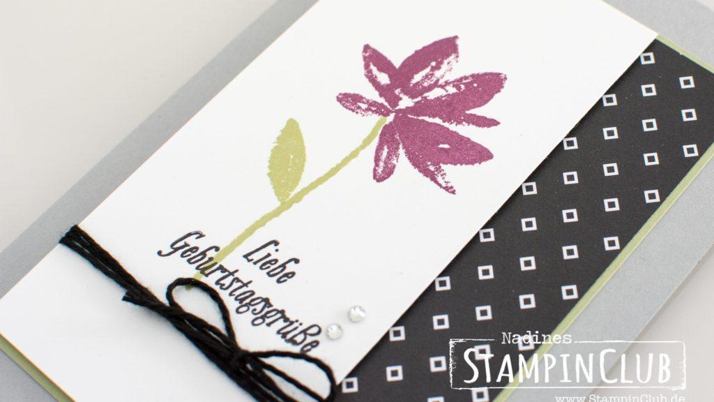 Stampin' Up!, StampinClub, Sale-A-Bration, Gartengrüße, Avant Garden
