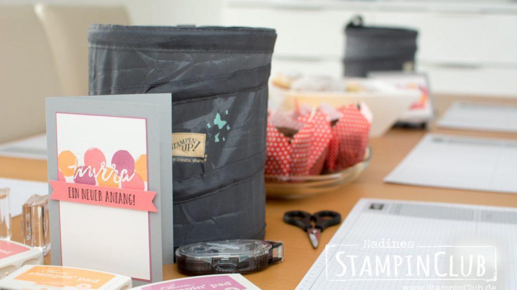 Stampin' Up!, StampinClub, Open Hause, Tag der offenen Tür, Katalogparty