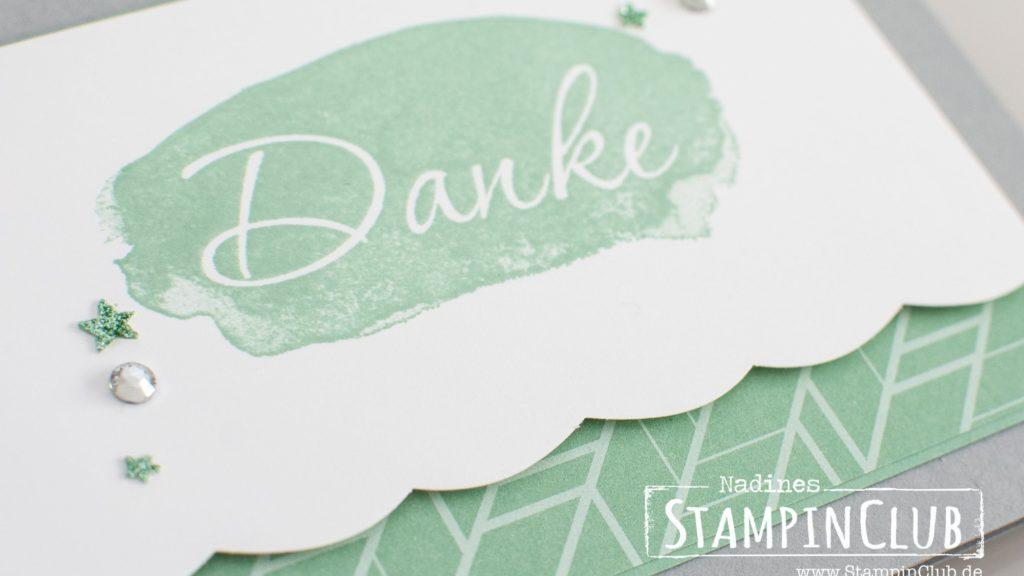 Stampin' Up!, StampinClub, Worte wie gemalt, Reverse Words, Sale-A-Bration, Glitzerpapier, Glimmer Paper