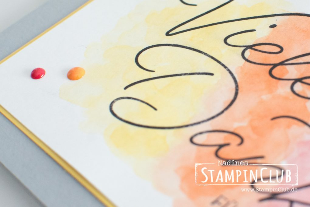 Stampin' Up!, StampinClub, Sale-A-Bration, Gesagt Gedankt, So very Much