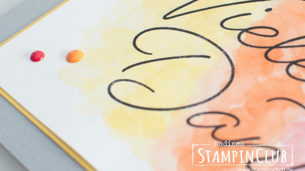 Stampin' Up!, StampinClub, Sale-A-Bration, Gesagt Gedankt, So very Much