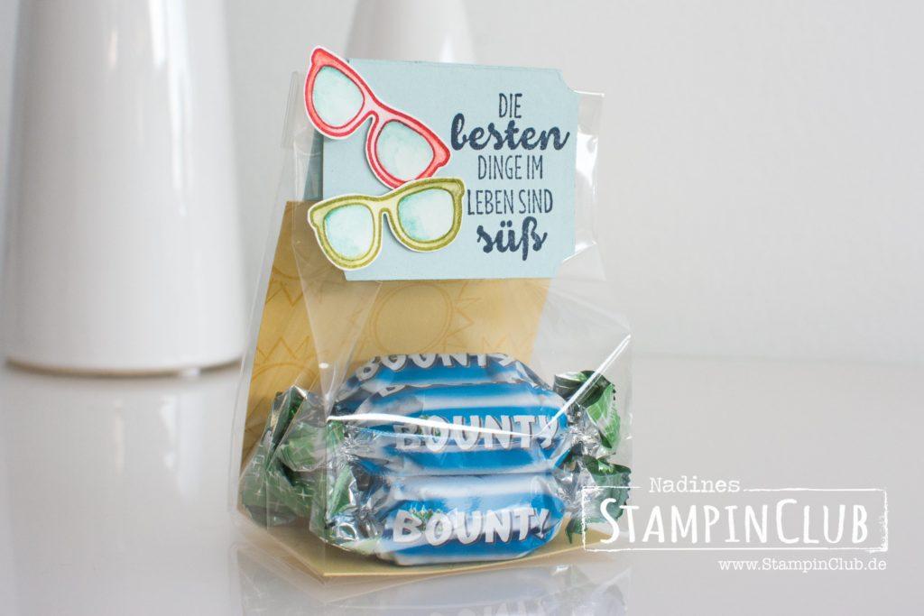 Stampin' Up!, StampinClub, Day at the Beach, Reihenweise Grüße, Suite Sentiments, Bounty
