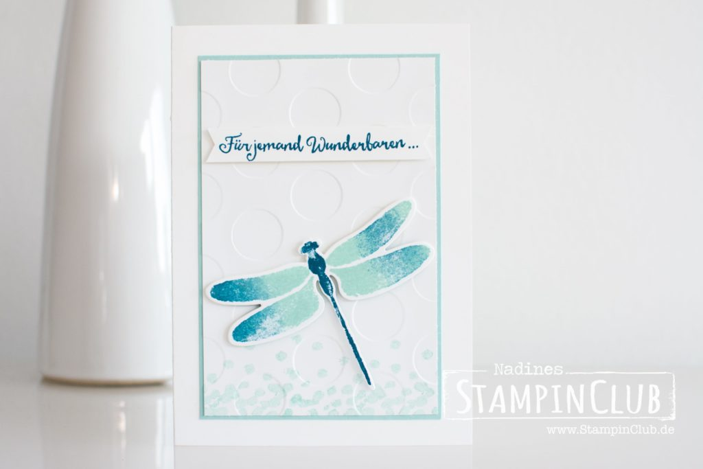 Stampin' Up!, StampinClub, Dragonfly Dreams, Detailed Dragonfly Thinlits Dies, Li(e)belleien, Thinlits Formen Libelle