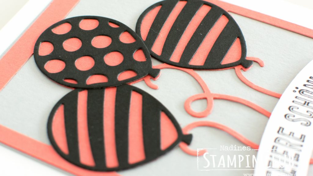 Stampin' Up!, StampinClub, Thinlits Formen Pop-Up-Ballons, Balloon Pop-Up Thinlits Dies, Ballonparty, Balloon Adventures