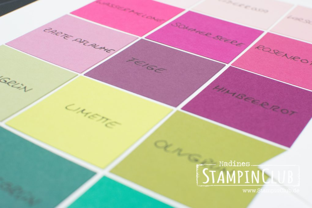 Stampin' Up!, StampinClub, In Color 2017-2019