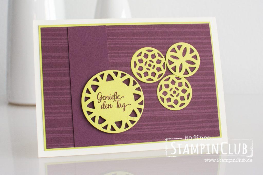 Stampin' Up!, StampinClub, Besonderes Designerpapier Orientpalast, Eastern Palace Speciality Designer Series Paper, Schönheit des Orients, Eastern Beauty