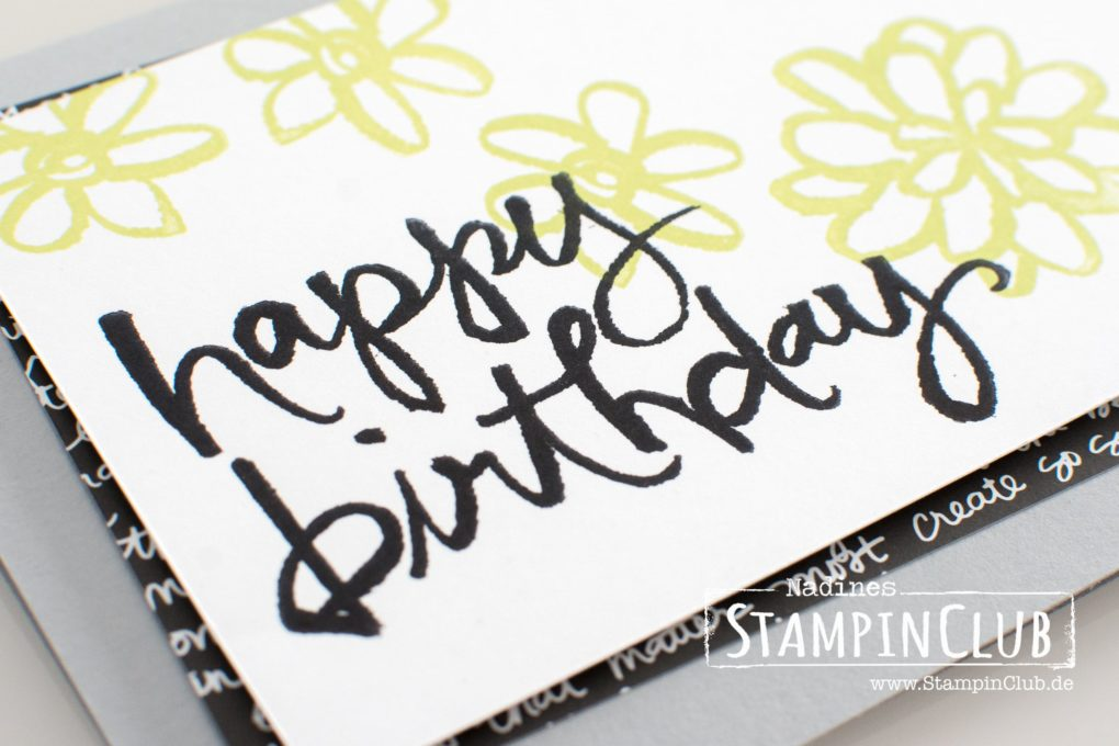Stampin' Up!, StampinClub, Watercolor Words