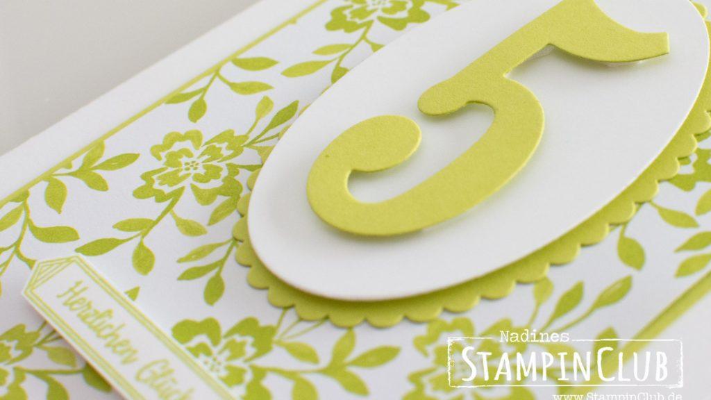 Stampin' Up!, StampinClub, Designerpapier im Block Florale Eleganz, Fresh Florals DSP stack, Alles Liebe Geburtstagskind, Happy Birthday Gorgeous