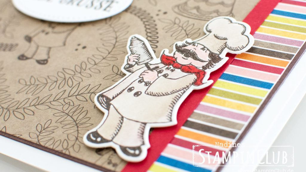 Stampin' Up!, StampinClub, Designerpapier Nostalgischer Geburtstag, Birthday Memories DSP, Geburtstagskreation, Birthday Delivery