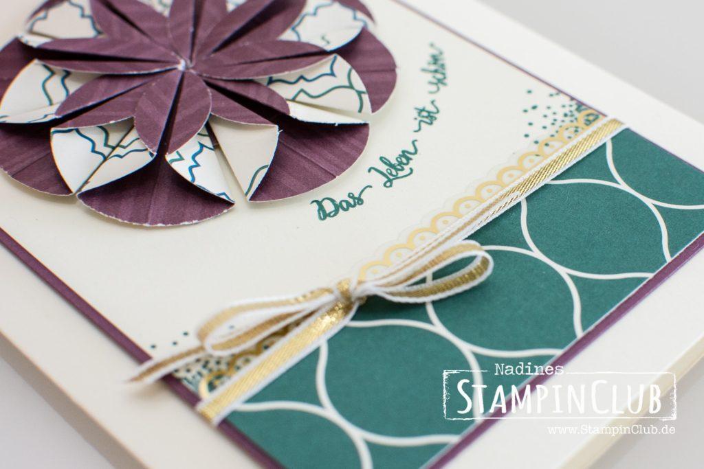 Stampin' Up!, StampinClub, Schönheit des Orients, Eastern Beauty, Paper Dahlia, Papier Dahlien