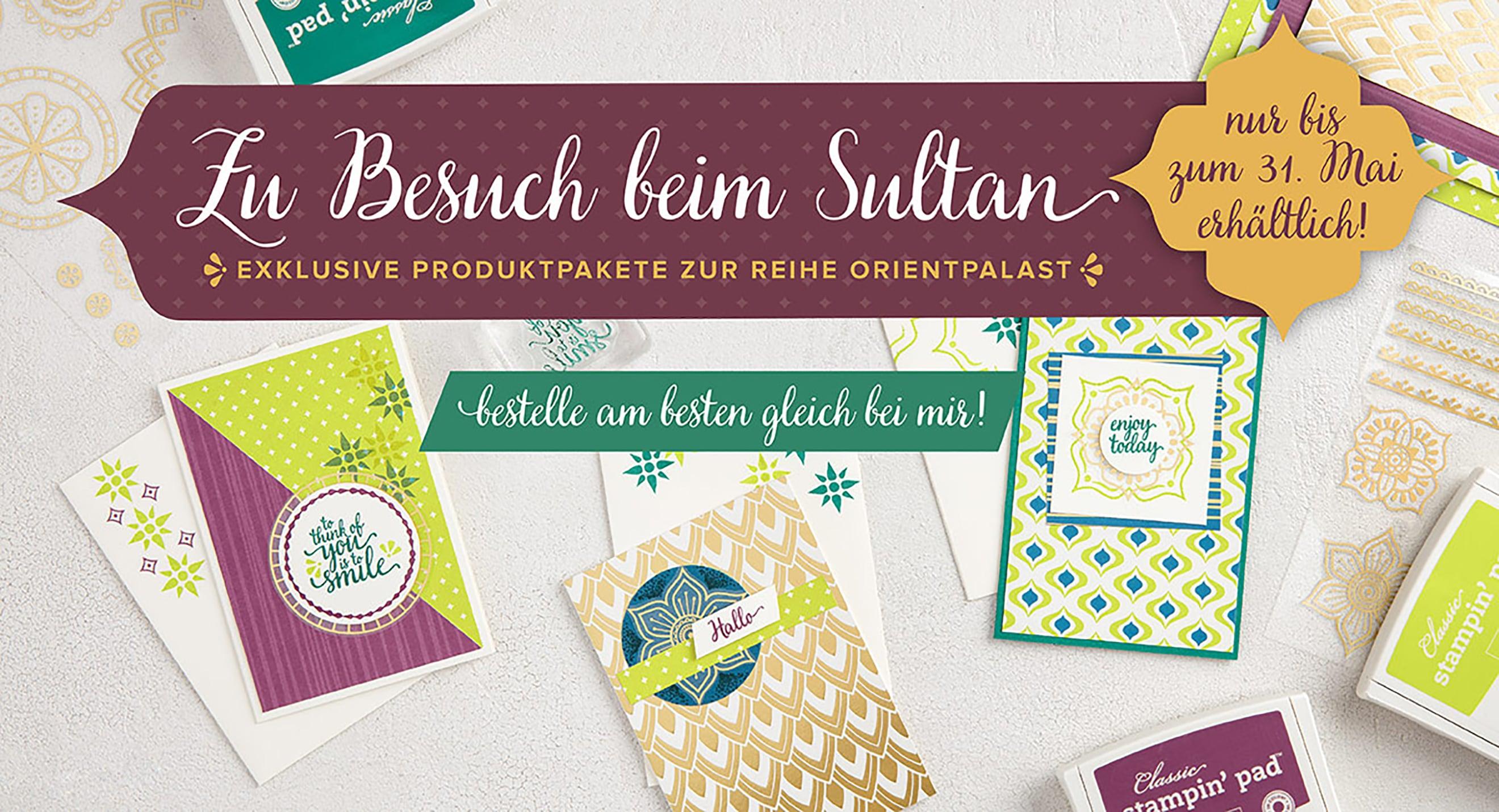 Stampin' Up! Produktreihe Orientpalast