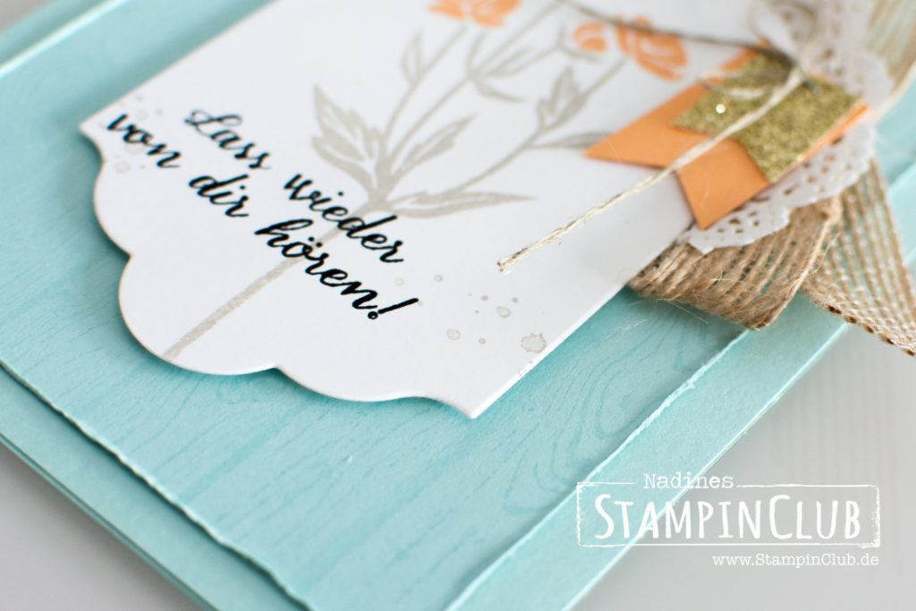 Stampin' Up!, StampinClub, Zum neuen Abschnitt, Wild about Flowers