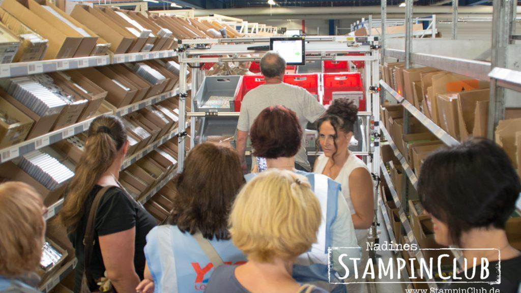 Stampin' Up!, StampinClub, Lagerbesichtigung, Warehouse Tour