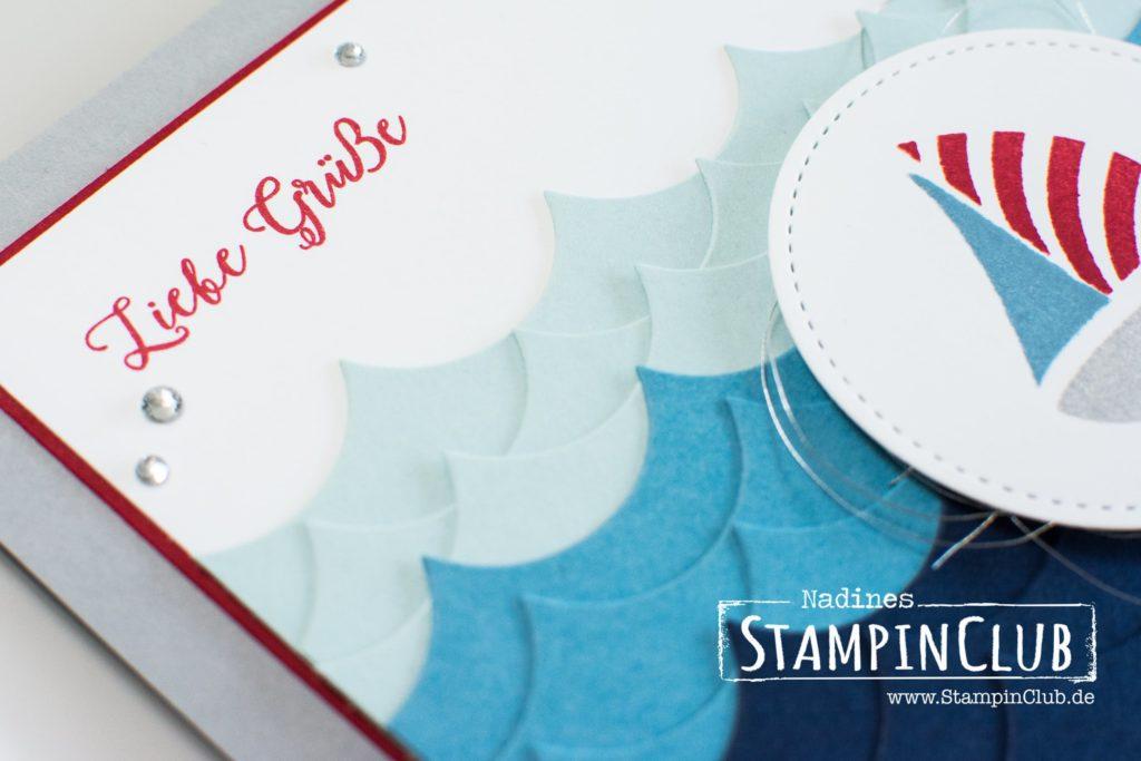 Stampin' Up!, StampinClub, Summer, Sommer, Swirly Bird, Jahr voller Farben, Colorful Seasons, Thinlits Formen Aus jeder Jahreszeit, Seasonal Layers Thinlits Dies, Ocean, Meer