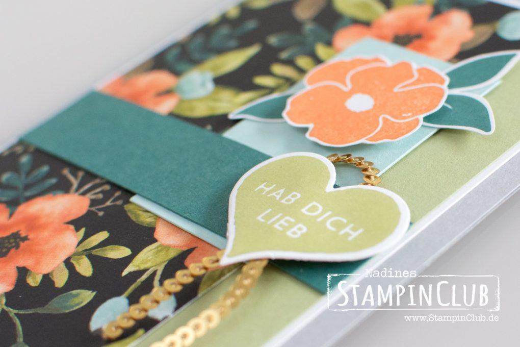 Stampin' Up!, StampinClub, Ganz liebe Grüße, Lots of Love, Designerpapier Allerliebst, Whole Lot of Lovely DSP