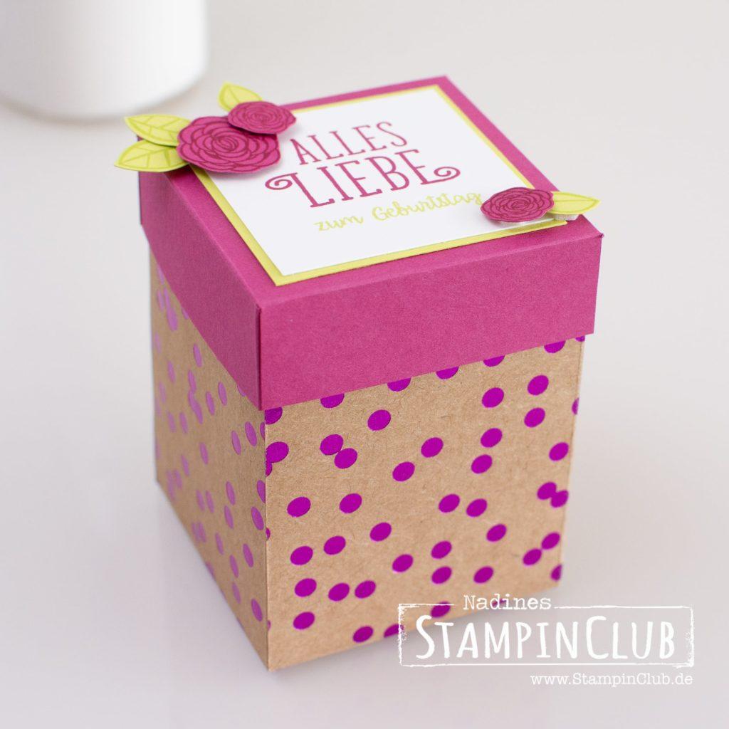 Stampin' Up!, StampinClub, Verpackung, Box, Alles Liebe Geburtstagskind!, Happy Birthday Gorgeous