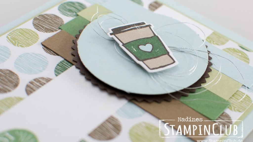 Stampin' Up!, StampinClub, Kaffee olé, Coffee Café, Designerpapier Kaffeepause, Coffee Break DSP