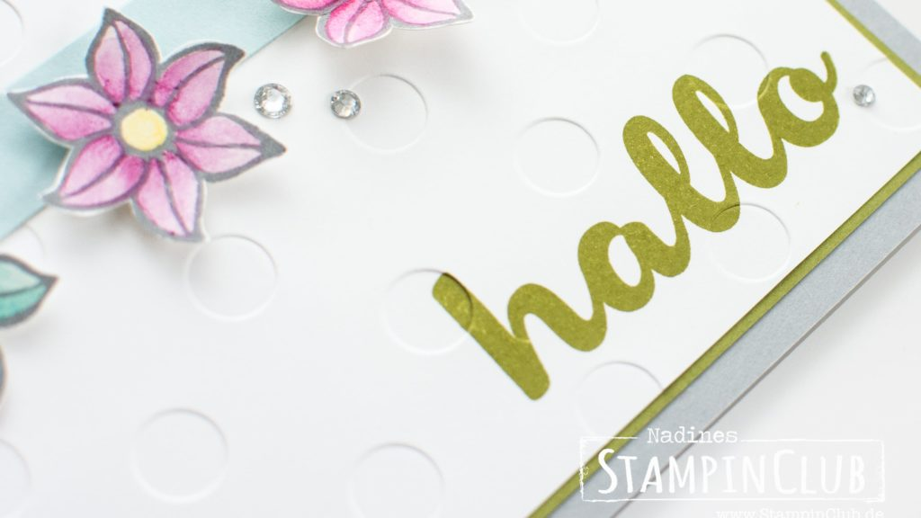 Falling Flowers, An dich gedacht, Stampin' Up! StampinClub, Blumen